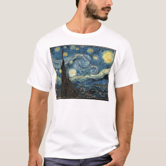 Camiseta de la noche estrellada de Van Gogh