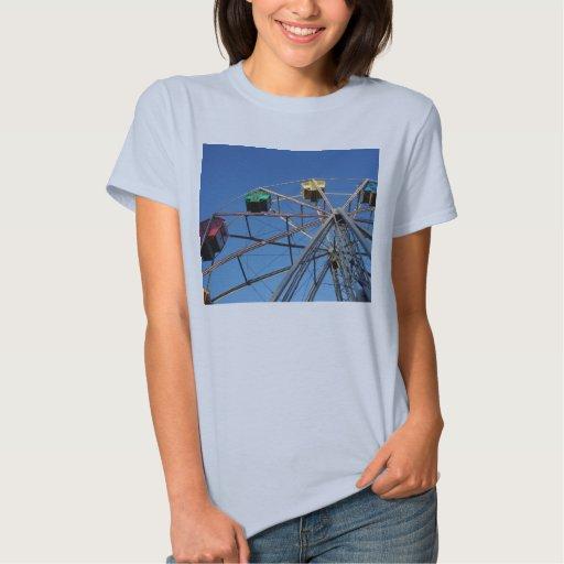 Camiseta de la noria de las señoras