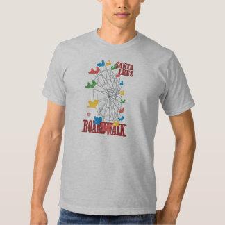 Camiseta de la noria del paseo marítimo de Santa Playera