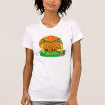 Camiseta de la novia de la playa