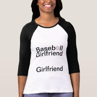 Camiseta de la novia del béisbol