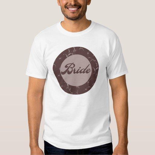 Camiseta de la novia playera