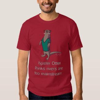 Camiseta de la nutria del inconformista playera