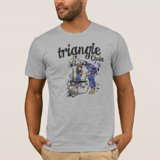 Camiseta de la obstrucción del triángulo