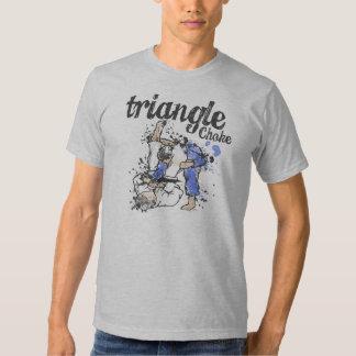Camiseta de la obstrucción del triángulo playera