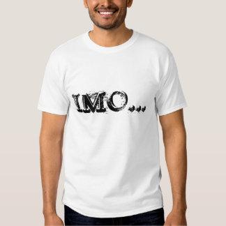 Camiseta de la OMI Playera