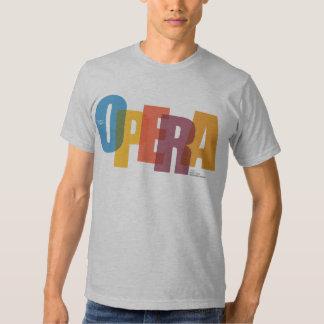 Camiseta de la ópera del NEC (varón) Polera