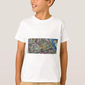Camiseta de la opinión de los pájaros playeras