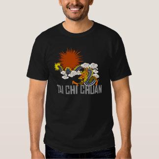 Camiseta de la oscuridad de Chuan de la ji del Tai Remeras