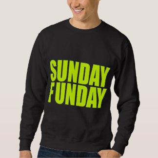 Camiseta de la oscuridad de domingo Funday Sudadera