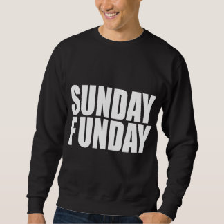 Camiseta de la oscuridad de domingo Funday Sudaderas Encapuchadas