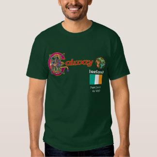 Camiseta de la oscuridad de Galway del condado de  Playeras