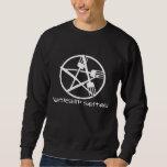 Camiseta de la oscuridad de la adoración de Seitan Sudaderas Encapuchadas