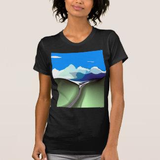 Camiseta de la oscuridad de la divisoria de Dallas Polera