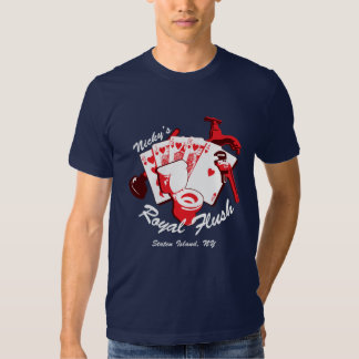 Camiseta de la oscuridad de la escalera real de playera