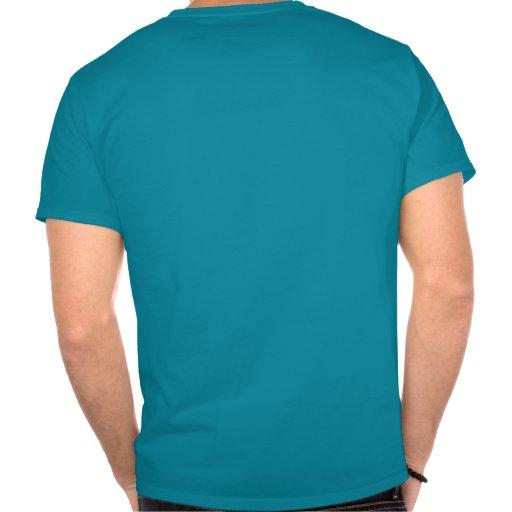 Camiseta de la oscuridad de la perspectiva de la