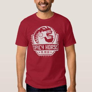 Camiseta de la oscuridad de Spicy Horse Playera