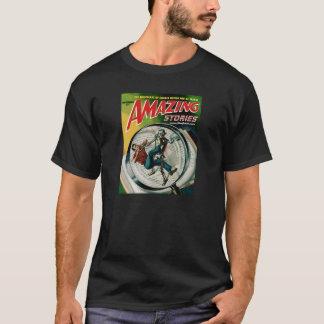 Camiseta de la oscuridad del asimiento de