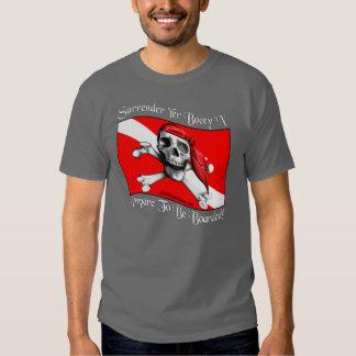 Camiseta de la oscuridad del botín del YER de la Playeras