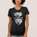 Camiseta de la oscuridad del club del oso polar