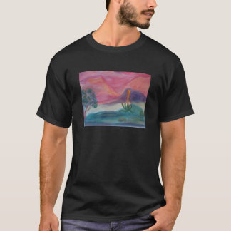 Camiseta de la oscuridad del desierto