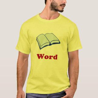 Camiseta de la palabra