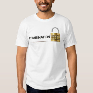 Camiseta de la palabra de la combinación polera