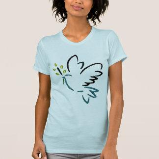 Camiseta de la paloma de la paz