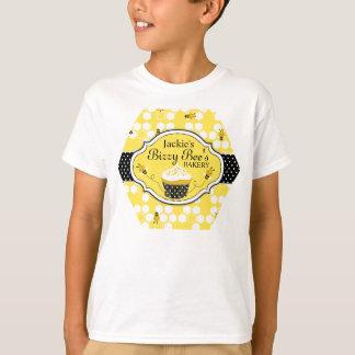 Camiseta de la panadería de la magdalena de la