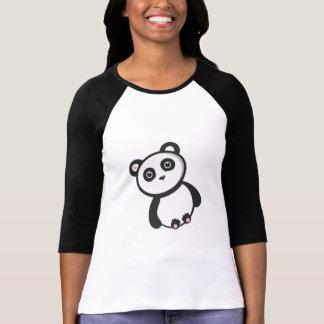 Camiseta de la panda de Kawaii Polera