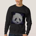 Camiseta de la panda del bebé sudaderas encapuchadas