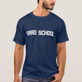 Camiseta de la parodia de la escuela del graduado