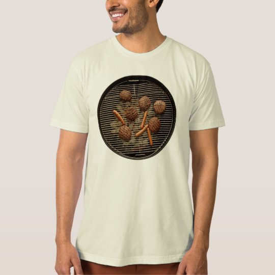 Camiseta de la parrilla del Bbq