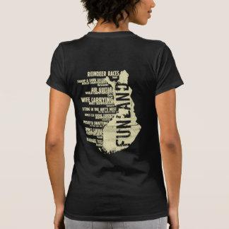 Camiseta de la parte posterior de la lista 6 de Fi
