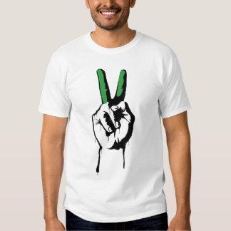 Camiseta de la paz de Irán (para hombre) Remera