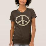 Camiseta de la paz de la margarita