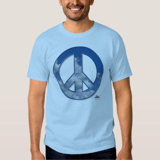 Camiseta de la paz del cielo remera