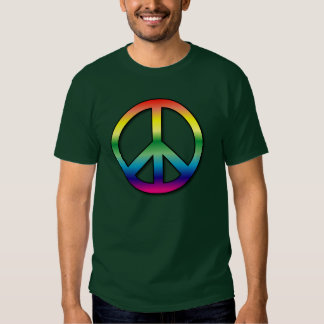 Camiseta de la paz polera