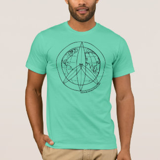 Camiseta de la paz que practica surf 4