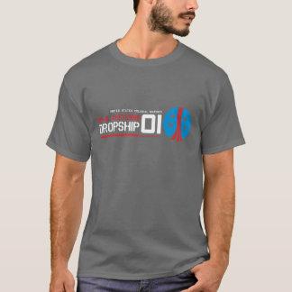 Camiseta de la película de Dropship Sci Fi