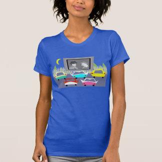 Camiseta de la película del autocinema de la