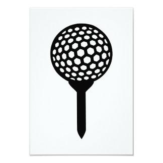 Camiseta de la pelota de golf anuncios