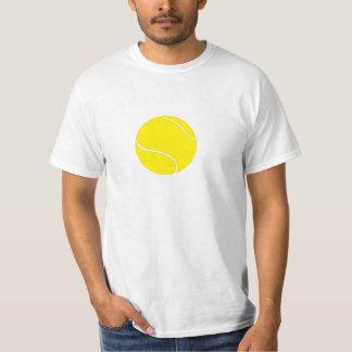 Camiseta de la pelota de tenis