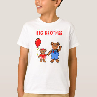 Camiseta de la pequeña hermana de hermano mayor remeras