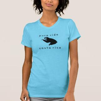 Camiseta de la pereza de Costa Rica Pura Vida Remeras