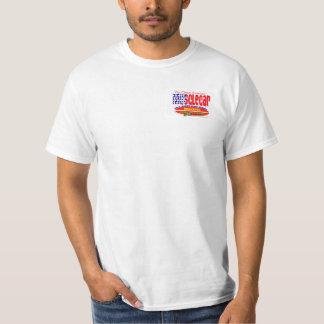 Camiseta de la persona que practica surf de
