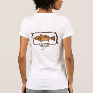 Camiseta de la pesca de los salmones