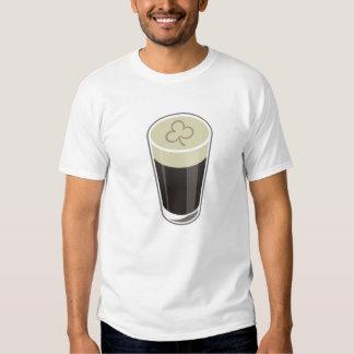 Camiseta de la pinta del trébol polera
