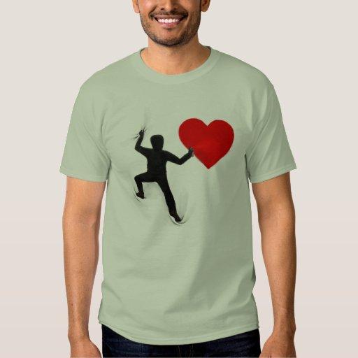 Camiseta de la pintada playera