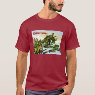 Camiseta de la pintura de Borinqueneers